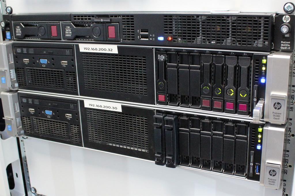 Server-Virtualisierung HP ProLiant