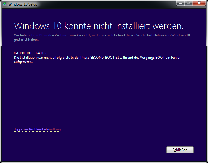Windows_10_Upgrade-Fehler