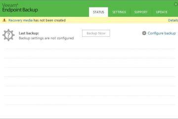 Datensicherung Veeam Endpoint Backup Free Rücksicherung